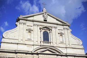 sant'andrea della valle kerk, rome italië foto