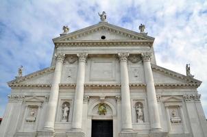 Basilica di Santa Maria della Salute in Venetië, Italië foto