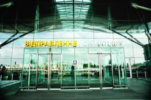 luchthaven interieur foto