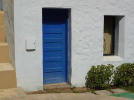 griekenland deur foto
