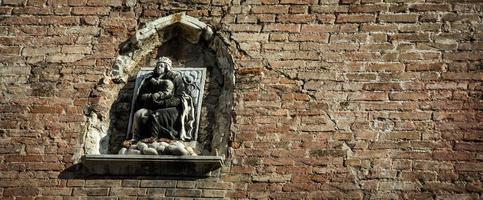 standbeeld Venetië foto