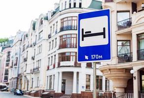 hotel teken foto
