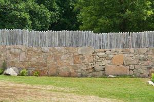 historische muur foto