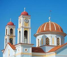 oude orthodoxe kerk in Griekenland, Kreta. foto