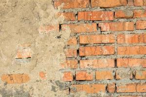 oude vintage bakstenen muur foto