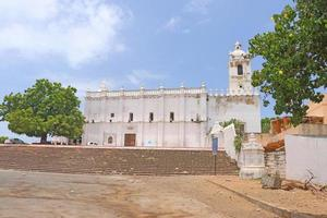 kerk van st francis van assisi [ziekenhuis] diu gujarat india foto