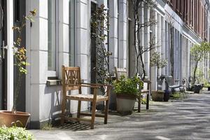 straat meubilair foto