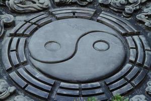 yin und yang foto