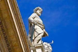 standbeeld in Vaticaan foto