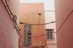huizen in Marrakech, Marokko foto
