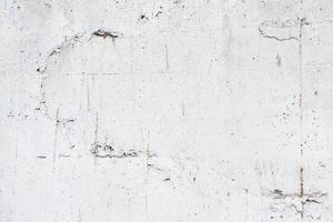 achtergrondstructuur van witte betonnen wand met wapening