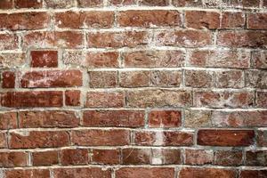 oude bakstenen muur achtergrond foto
