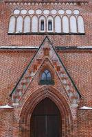 gevel van st. John`s kerk foto