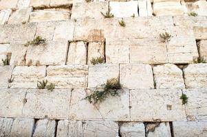 muur in Jeruzalem foto