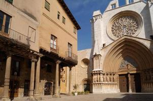 catedral, tarragona, catalonië foto
