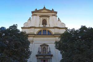 kerk van onze lieve vrouw zegevierend in mala strana foto