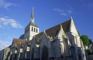 de gotische kerk van st.croix foto