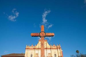 kathedraal van san cristobal, chiapas, mexico