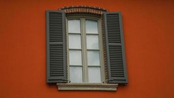 Particuliere di facciata crespi d'adda foto