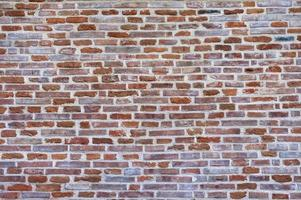 bakstenen muur achtergrond. foto