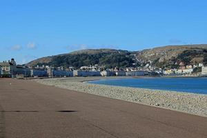 typisch Britse kust foto