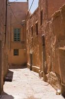smal straatje in medina foto