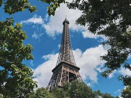 Eiffeltoren gedurende de dag foto