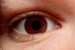 vortex oog foto
