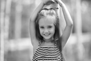 kleine meid foto