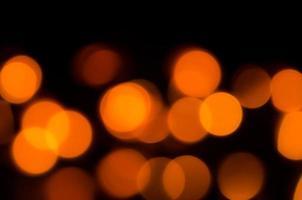 wazig gele lichten foto