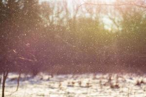 besneeuwde uitbarsting foto