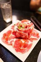 vlees foto