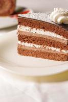 chocoladetaart foto
