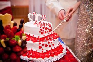 bruidstaart foto