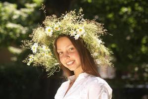 mooi zomermeisje foto