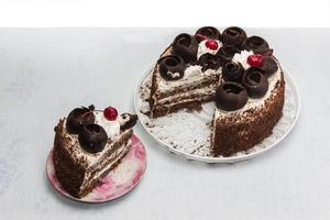 cake met lagen foto