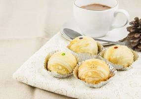 bruine bakkerij voor theepauze foto