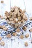 portie bruine suiker