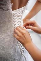 bruiloft voorbereiding foto