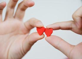 hart in de handen foto