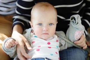 mooi babymeisje foto