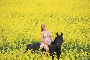 paardrijden # 3 foto