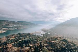 de columbia-kloof in Oregon foto