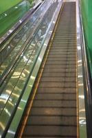 lege roltrap trappen foto