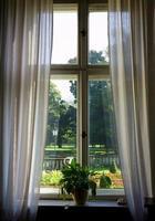raam in paleis foto