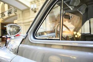 fragment van een vintage auto foto