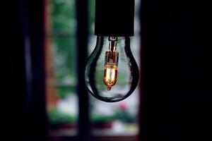 spar-glühbirne foto