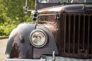 nieuwe retro truck foto