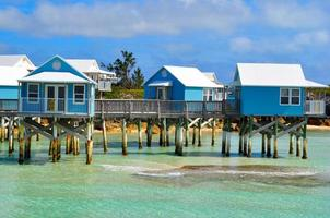 prachtige bermuda negen strandresort foto