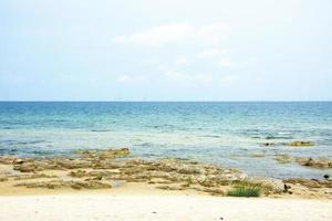 het Malawimeer op een heldere zomerdag foto
